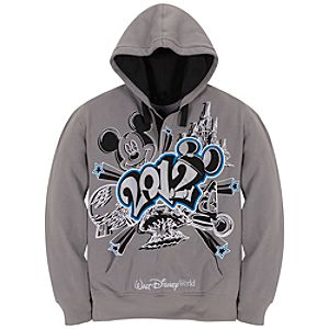 2012 Walt Disney World Fleece Hoodie for Men