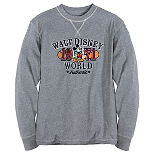 Long Sleeve Walt Disney World Mickey Mouse Tee for Men