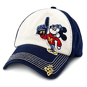 Walt Disney World Mascot Mickey Mouse Baseball Cap for Adults