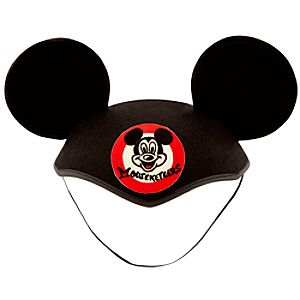 Classic Mickey Mouse Club Mouseketeer Ear Hat