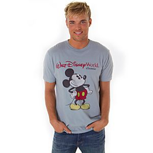 Walt Disney World Classic Mickey Tee for Men