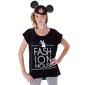 Ooh La La Fashion Mouse Minnie Mouse Tee for Women