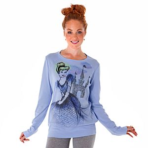 Long Sleeve Autograph Cinderella Tee for Women