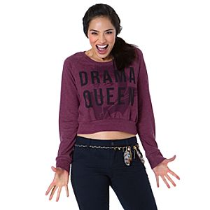 Raglan Drama Queen Evil Queen Tee for Women