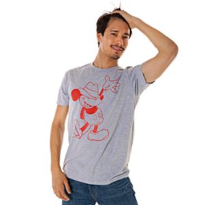 Fedora Mickey Mouse Tee for Men