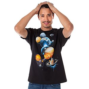 Planet Mickey Mouse Tee for Men