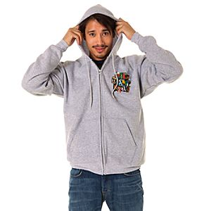 Spell It Out Walt Disney World Hoodie for Men -- Gray