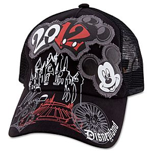 2012 Disneyland Mesh Baseball Cap for Adults