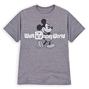 Classic Walt Disney World Mickey Mouse Tee for Men