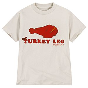 Turkey Leg Walt Disney World Tee for Adults