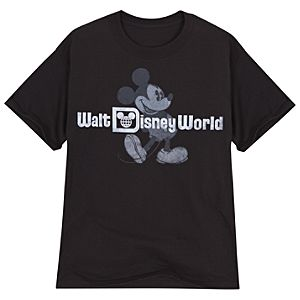 Classic Walt Disney World Mickey Mouse Tee for Adults