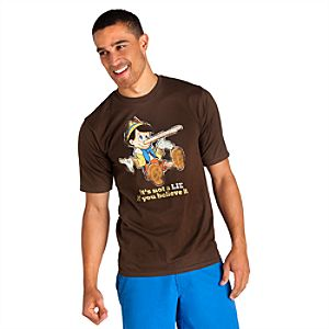"Its Not A LIE If You Believe It"" Pinocchio Tee for Adults"