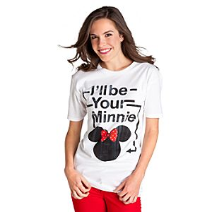 Ill Be Your Minnie Minnie Mouse Tee for Women
