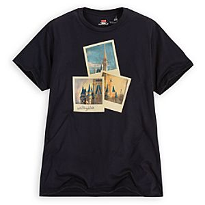 Walt Disney World Cinderella Castle Tee for Adults