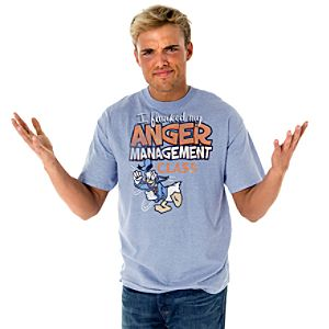 """Anger Management"" Donald Duck Tee for Men"