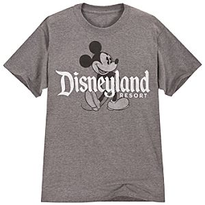 Disneyland Resort Mickey Mouse Tee for Men