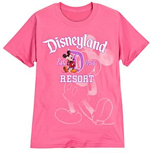 Mickey Mouse Tee for Women - Disneyland