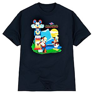 Disney Cruise Line Alaska Mickey Mouse Tee for Men