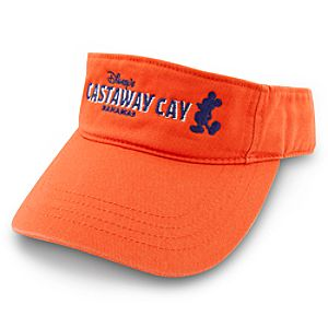 Disney Cruise Line Castaway Cay Visor for Adults