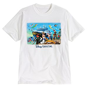 Disney Cruise Line Storybook Character Tee for Men