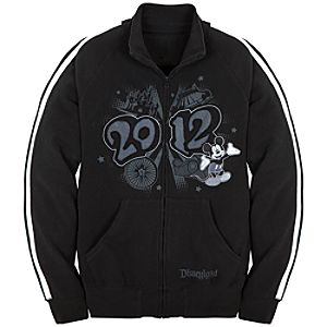 2012 Disneyland Fleece Track Jacket for Men