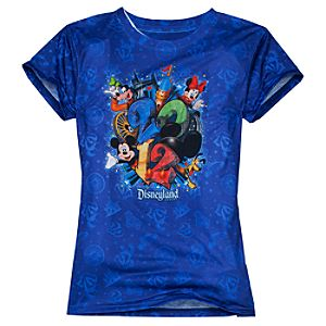 Sublimated 2012 Disneyland Resort Tee for Women
