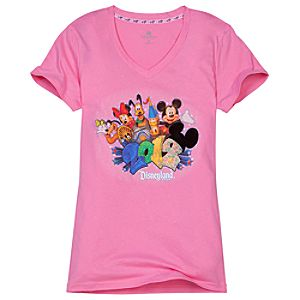 V-Neck 2012 Disneyland Tee for Women