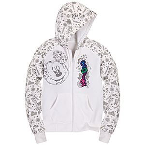 Zip Fleece 2012 Disneyland Hoodie for Women