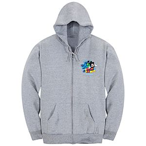 Zip Fleece 2012 Disneyland Resort Hoodie for Adults