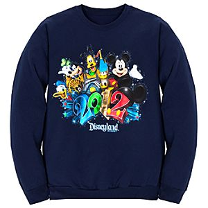 Fleece 2012 Disneyland Resort Sweatshirt for Adults