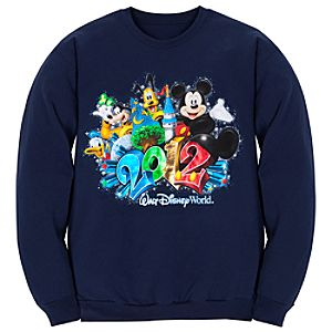 Fleece 2012 Walt Disney World Resort Sweatshirt for Adults
