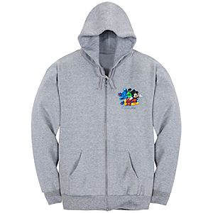 Zip Fleece 2012 Walt Disney World Resort Hoodie for Adults