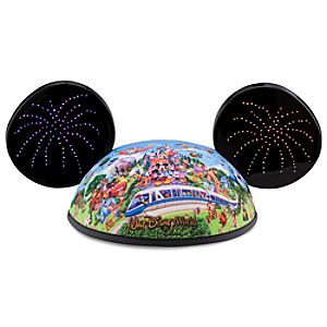 Light-Up Storybook Walt Disney World Mickey Mouse Ear Hat