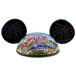 Light-Up Storybook Disneyland Mickey Mouse Ear Hat