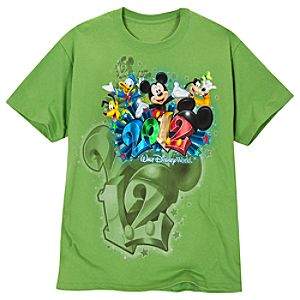 2012 Walt Disney World Resort Tee for Men