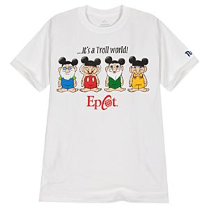 Epcot World Showcase Norway Its a Troll World Tee for Adults