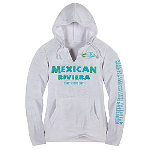 Disney Cruise Line Mexican Riviera Fleece Hoodie for Women