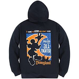 Zip Fleece One More Disney Day Disneyland Hoodie for Adults