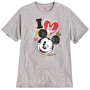 SIGNin In The Street Mickey Mouse Tee for Adults