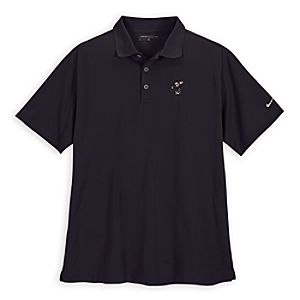 Mickey Mouse Golf Shirt by Nike for Men -- Black