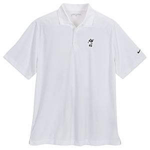 Mickey Mouse Golf Shirt by Nike for Men -- White