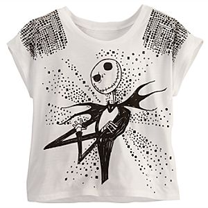 Studded Jack Skellington Tee for Women
