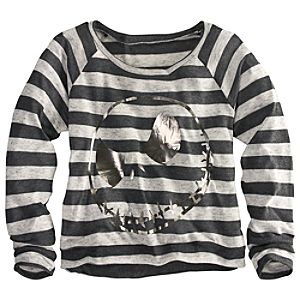 Long Sleeve Striped Jack Skellington Sweater for Women