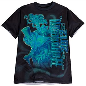Walt Disney World Halloween The Haunted Mansion Tee for Men