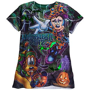 Minnie Mouse Tee for Women - Halloween