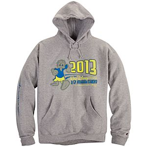 2013 Walt Disney World Half Marathon Donald Duck Fleece Hoodie for Adults by Champion®