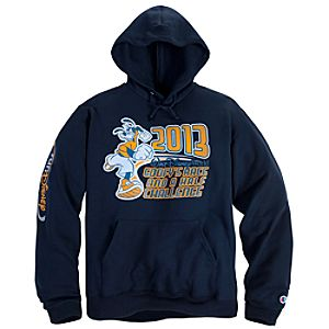 2013 Walt Disney World Goofys Race and a Half Challenge Fleece Hoodie for Adults by Champion®