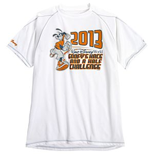 2013 Walt Disney World Goofys Race and a Half Challenge Performance Tee for Men by Champion®