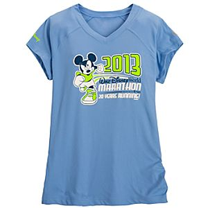 2013 Walt Disney World Marathon Mickey Mouse Performance Tee for Women by Champion®