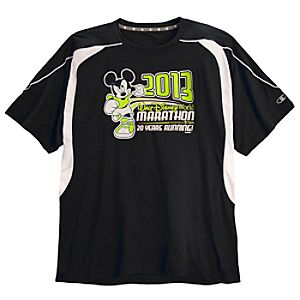 2013 Walt Disney World Marathon Mickey Mouse Performance Tee for Men by Champion®